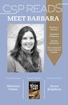 CSP READS 2016: Barbara J. Wissink