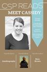 CSP READS 2016: Cassidy Schweer