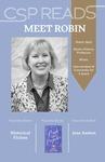 CSP READS 2016: Robin Gehl