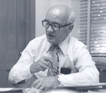 E.P. Weber in His Office by Concordia University - Portland