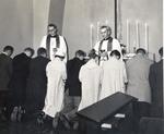 Communion Service in Chapel of Upper Room by Concordia University - Portland