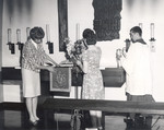Preparing the Altar in the Chapel of the Upper Room by Concordia University - Portland