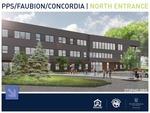 Faubion School - North Entrance