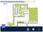 Faubion School - Site Plan