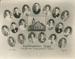 Confirmation Class 2nd German Congregational Church