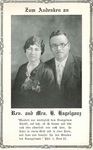 Rev. and Mrs. H. Hagelganz