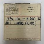 Vint Lawrence Audio Journal #01, 4 December 1965
