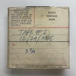 Vint Lawrence Audio Journal #03, 24 December 1965 - Part 2 by J. Vinton Lawrence