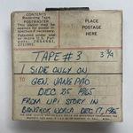 Vint Lawrence Audio Journal #04, 25 December 1965