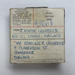 Vint Lawrence Audio Journal #07, 16 January 1966